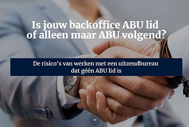 Is jouw backoffice ABU lid of alleen maar ABU volgend?